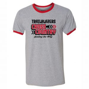 Trailblazers Cross Country Ringer Tee