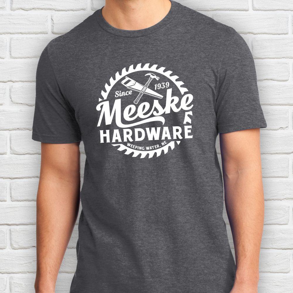 Meeske Hardware T-shirt-Grey